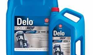 Мировая премьера Texaco Delo 600 ADF