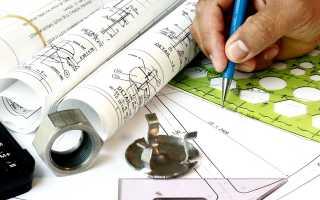 Порядок построения чертежа плана теодолитного хода