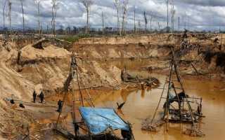 Рельеф и полезные ископаемые Южной Америки