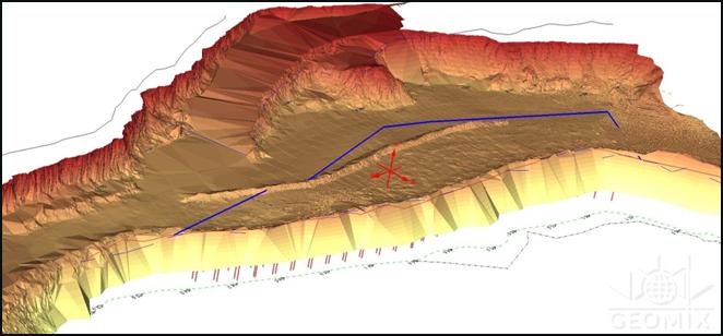 Геолого-маркшейдерское обеспечение буровзрывных работ на карьерах с применением горно-геологической информационной системы ГИС ГЕОМИКС