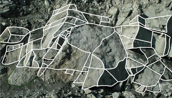 Методика оценки блочности горных пород в массиве и в откосах уступов карьера рудника «Железный» Ковдорского гока