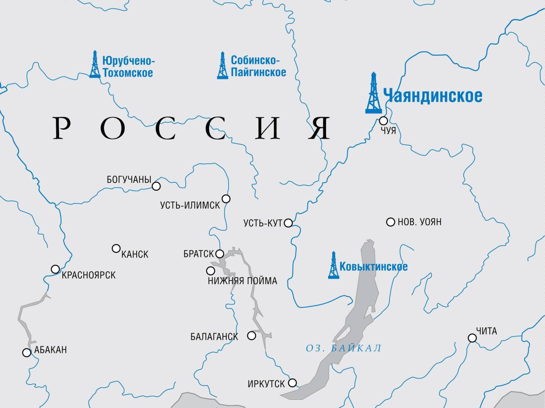 Юрубчено-Тохомское месторождение: жемчужина Красноярского края